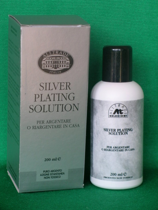 SILVER PLATING SOLUTION 200 ML